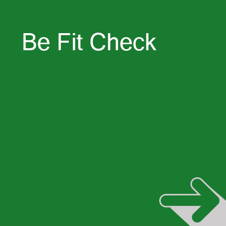 Be Fit Experience Be Fit Check